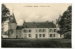 CPA 18 BUSSY Chateau De La Veve - Francia