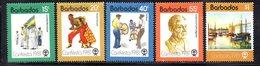 CI872 - BARBADOS 1981, Serie Yvert N. 524/528 ***  MNH   (2380A) . - Barbados (1966-...)