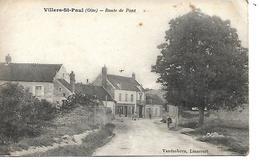 60 - VILLERS SAINT PAUL - Route De Pont - France