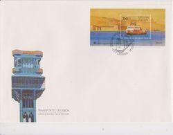 Portugal 1989 Ship / Lisbon Transport M/s FDC (F7788) - FDC