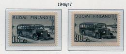 PIA - FINLANDIA  - 196-47 : Autobus Postali   - (Yv 315-16) - Bus