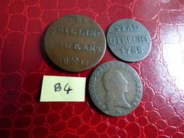 Lot 3 PIECES - Vrac - Monnaies