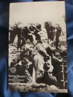 Guerre 1914  Soldats Americains  Infirmier Et Blessé  American Wounded After Bombardment France - R288 - Oorlog 1914-18