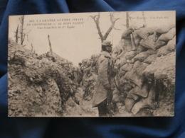 Guerre 1914  Au Bois Sabot  Une Tranchée De 1ere Ligne  N° 863  écrite - R288 - War 1914-18