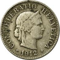 Monnaie, Suisse, 5 Rappen, 1912, Bern, TB+, Copper-nickel, KM:26 - Suisse