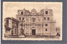 GUATEMALA  Tempel En Klooster Der Mercedes Temple Et Couvent De Mercedes 1936 OLD POSTCARD - Guatemala