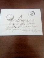 Prefilatelica Da Piacenza A Casteggio 14 Febbraio 1859 - Lombardo-Vénétie