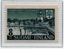 PIA - FINLANDIA - 1946  : 4° Centenario Della Città Di Tammisaari -   (Yv   319) - Nuovi