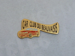 Pin's CAR CLUB DU BEAUVAISIS - Non Classés