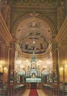 Sao Paulo (Brasil) Santuario Do Sagrado Coracao De Jesus, Interieur, Autel, Interno, Navata Centrale E Altare - São Paulo