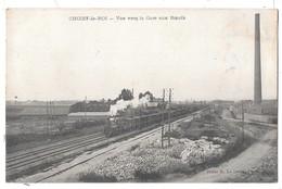 CHOISY LE ROI - Vue Vers La Gare Aux Boeufs (cliché Avec Train) - Choisy Le Roi