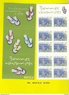 Carnet BC 42, Bonnes Vacances - Booklets