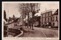 45, Chatillon Coligny, Faubourg Marceau Et Auberge Du Cheval Rouge - Chatillon Coligny