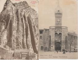 1920-618 / 3cp Sisteron-manosque-jausiers     Dep 04   Vente  Retirée  Le 01-06 - Andere Gemeenten