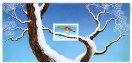 FRANCE - BLOCS SOUVENIRS - N° 1  (2003)  Rouge-gorge - FAUX - - Blocs Souvenir