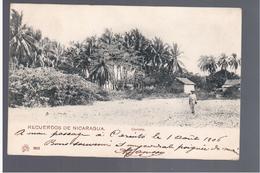 NICARAGUA Recuerdos De Nicaragua Corinto  1905 OLD POSTCARD - Nicaragua