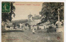70  SAINT   JULIEN Les MOREY      Rue Principale - France