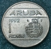 Aruba 1 Florin, 1992 -4564 - Monete