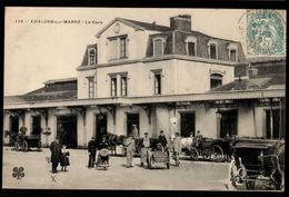 51 - CHALONS SUR MARNE - La Gare - Châlons-sur-Marne