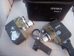 Coppia Di Cineprese SEKONIC - MICRO EYE 53EE- 8m/m - Other Collections