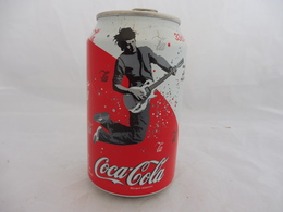 COCA COLA® CANETTE VIDE FESTIVAL MUSIQUE JUILLET 2005 N°6 EDITION SPECIALE 2006 FRANCE 33 Cl - Cans
