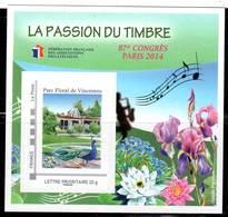 FRANCE - BLOC FFAP - N° 9 ** (2014) Parc Floral De Vincennes - FFAP
