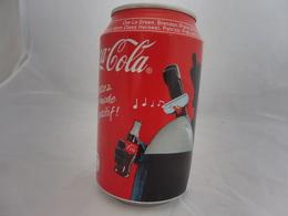 COCA COLA® CANETTE VIDE PASSEZ EN MODE POSITIF! 2010 FRANCE 33 Cl - Scatole E Lattine In Metallo