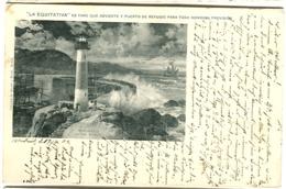 """""""La Equitativa"""" Es FARO Que Advierte Y Puerto De Refugio Para Toda Honrada Prevision ANUNCIO 1904 - Spanien"""