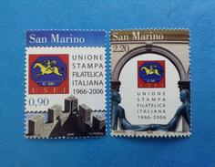 2006 SAN MARINO FRANCOBOLLI NUOVI STAMPS NEW MNH** - UNIONE STAMPA FILATELICA ITALIANA - USFI - Nuovi