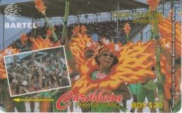 BARBADOS ISL.(GPT)- Crop Over 95, CN : 92CBDA, Tirage %76900, Used - Barbades