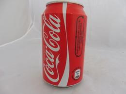 COCA COLA® CANETTE VIDE SANS CONSERVATEUR AJOUTES 2010 FRANCE 33 Cl - Cans