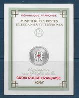 Carnet Croix Rouge De 1956  **-  Cote : 90 € - Carnets