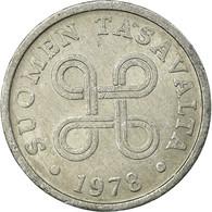 Monnaie, Finlande, 5 Pennia, 1978, TTB, Aluminium, KM:45a - Finland