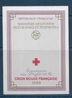Carnet Croix Rouge De 1958  **-  Cote : 38 € - Carnets