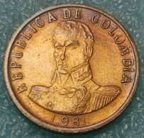 Colombia 2 Pesos, 1981 -4567 - Colombia