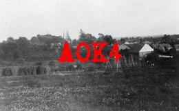 02 Aisne AUBENTON Panorama Occupation Allemande 1917 Potager Jardin CRB Commission For Relief In Belgium - Guerre, Militaire