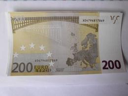 200 Euro-Schein Unc. Draghi - EURO
