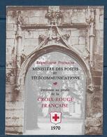 Carnet Croix Rouge De 1970  ** ( Variété N° 2019a )-  Cote : 90 € - Carnets