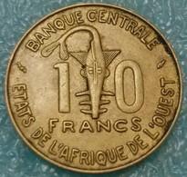 Western Africa (BCEAO) 10 Francs, 1990 -4569 - Coins
