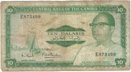 Gambia 10 Dalasi 1972 Pk 6 C Firma 7 Ref 6 - Gambia