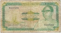 Gambia 10 Dalasi 1987 Pk 10 A Firma 8 Ref 7 - Gambia