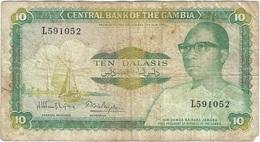 Gambia 10 Dalasi 1987 Pk 10 A Firma 8 Ref 8 - Gambia