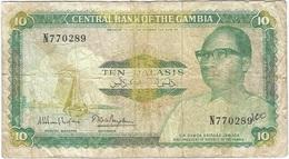 Gambia 10 Dalasi 1987 Pk 10 A Firma 8 Ref 9 - Gambia