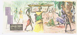 Buvard Illustration Daxelet Juillet   Congo - Buvards, Protège-cahiers Illustrés