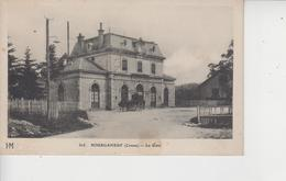 23 BOURGANEUF  -  La Gare  - - Bourganeuf