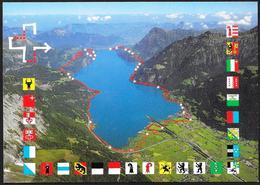 Svizzera/Switzerland/Suisse: FDC, Intero, Stationery, Entier, Stemmi, Coats Of Arms, Armoiries - Buste