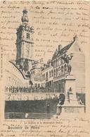 CPA - Belgique - Mons - Le Beffroi Et Le Monument Dolez - Mons