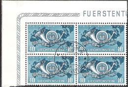 Liechtenstein 1949: 75 Jahre UPU  Zu 227 Mi 277 Yv 242 Mit ET-Stempel VADUZ 23.V.49  (Zumstein CHF 30.00) - Liechtenstein