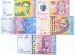 Cape Verde 5 Note Set 2014 COPY - Cape Verde