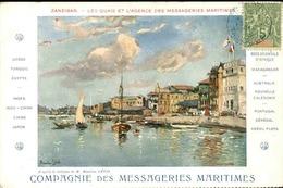 ZANZIBAR - Carte Postale - Les Quais Et L 'Agence Maritime - L 29371 - Tanzania